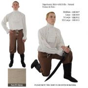 Napoleonic Shirt With Frills - 2 Colours